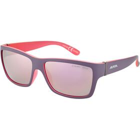 Alpina Kacey Lunettes, nightshade matt-pink/rose-gold mirror